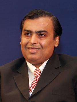 Mukesh Ambani, Photo Courtesy of World Economic Forum