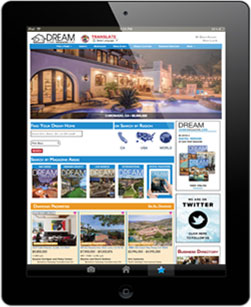 Dream Homes Magazine Website